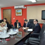Reunión del Pdte. de INCOOP con Representantes del Fondo Monetario Internacional