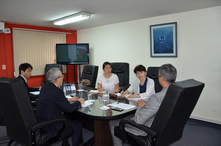 Reunión del Presidente del INCOOP con Representantes de la JICA de Japón (24/Feb)